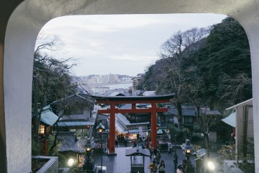 Enoshima Shrine, Japan