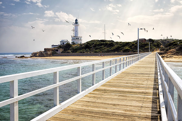 Queenscliff-View-of-Point-Lonsdale-Lighthouse