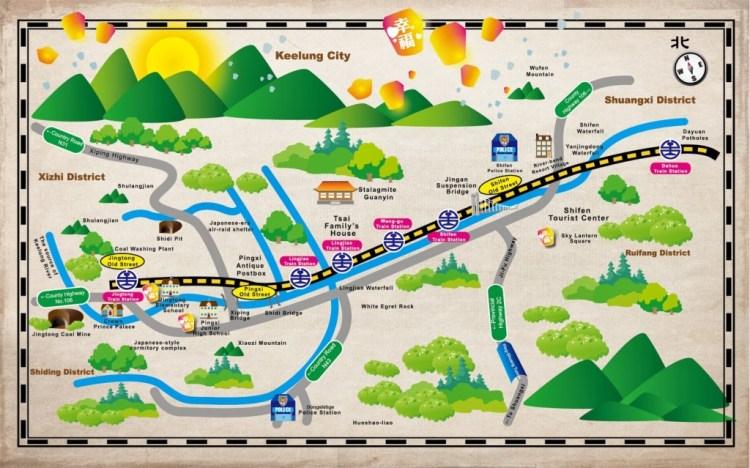 pingxi activity map