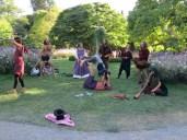 stunts in the park