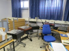 the archival sound studio in Tommy's office, in the basement of the Folkmusikens Hus