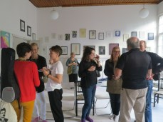 opening reception for Marja's debut solo show