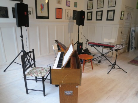 view from the harmonium side