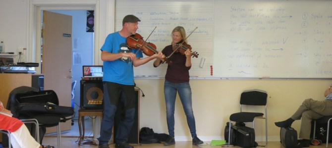 Malung –ensemble kurs med Mia & Micke