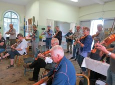 some of the fiddle contingent for allspel