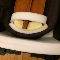 tailpiece padding