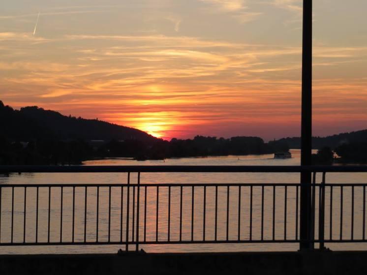 Donau in Flammen, Vilshofen, travelblogger