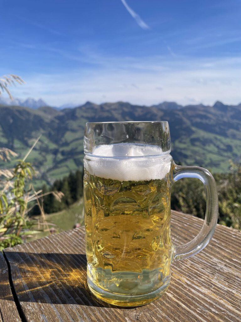 Hocheck-Hütte -Hahnenkamm Kitzbühel - mosi-unterwegs
