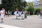 <h5>Syntagma Square, change of guard</h5><p>We were lucky to witness a change of guard.</p>