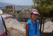 <h5>Odeon of Herodes Atticus - Ηρώδειον</h5><p>Beneath The Rock but with an excellent view from up there. Famous performers here incude Maria Callas, Frank Sinatra, Nana Mouskouri, Luciano Pavarotti, Vangelis, Yanni, Andrea Bocelli.</p>