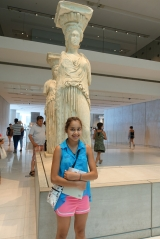 <h5>Akropolis Museum, The Karyatides</h5><p>The dress details are staggering. All carved in marble.</p>