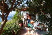 <h5>Traditional oven in the courtyard.</h5><p>Stunning sea view!</p>