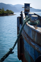 <h5>Trizonia, Rustic boat</h5>