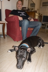 <h5>Spyros with Bob.</h5>