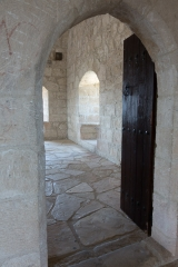 <h5>Entrance to the lobby</h5>