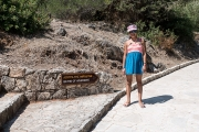 <h5>On the way to the baths of Aphrodite</h5>