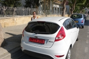 <h5>Our car rental. Paress loved it!</h5>