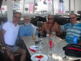 <h5>With Apostolos, Fotis and Dimitris Kontis (Navarchos)</h5>