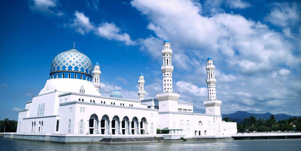 [觀光] 沙巴 ─ 亞庇水上清真寺 (Kota Kinabalu City Mosque) ─ 不太夢幻 – KaKaKa.Fly
