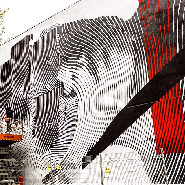 Mural art info and artist's name can be found @ Mural Festival