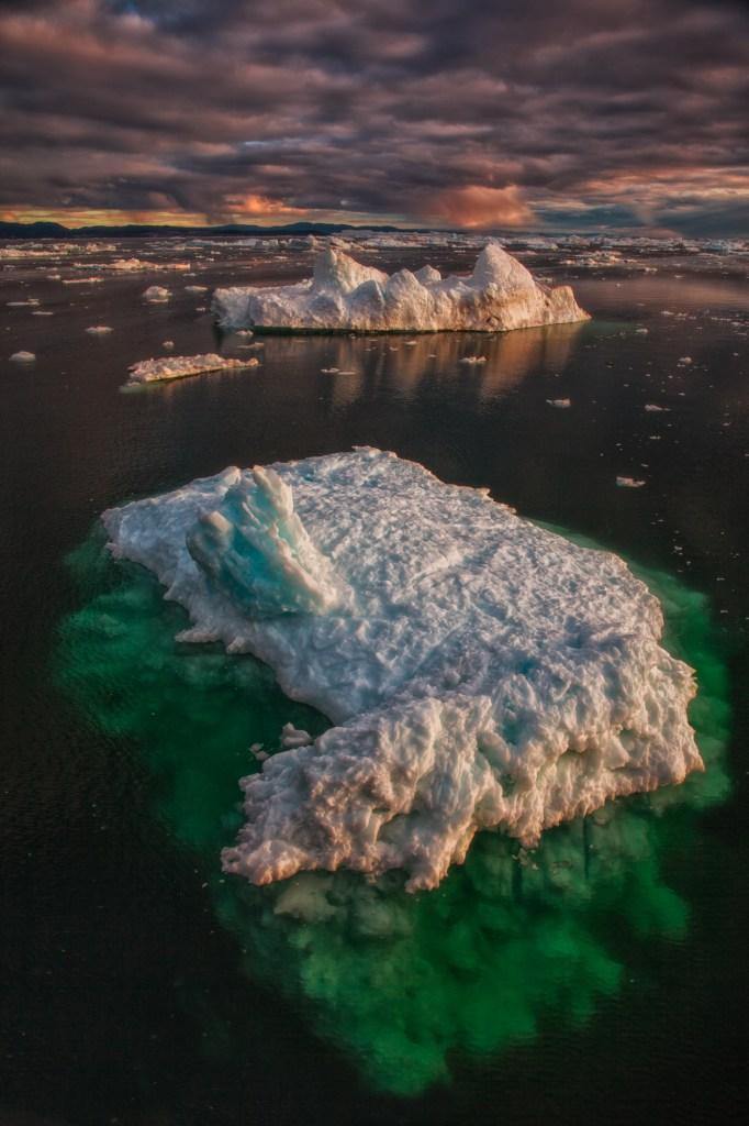 iceberg-sunset-greenland-1