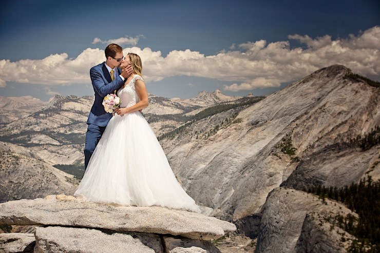 Brian Rueb Half Dome Yosemite Wedding 5
