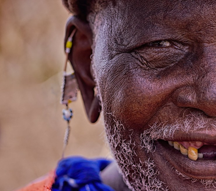 The Maasai Chief By Colby Brown
