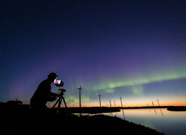 Smøla filming nightsky 1