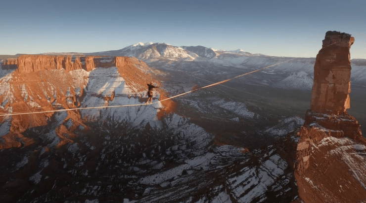 Camp 4 Collective Theo Sanson Slackline Utah 4