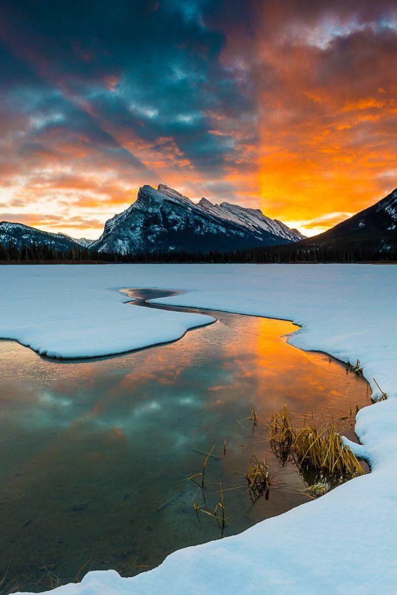 Vermilion Lakes Banff Alberta Canada Erik McRitchie