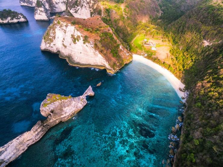 Indonesia - Atuh Beach - Nusa Penida - Bali - drone - by Michael Matti