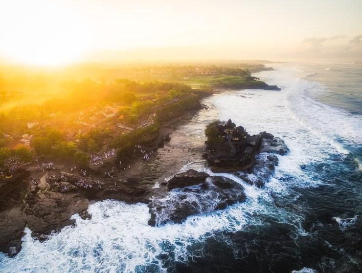 Indonesia - Bali - Tanah Lot - Sunrise - by Michael Matti