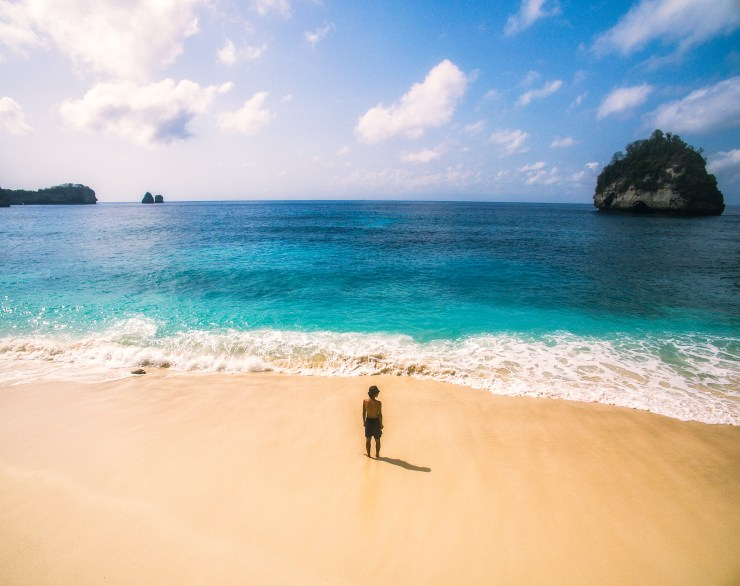 Indonesia - Nusa Penida - Beach - Drone - by Michael Matti