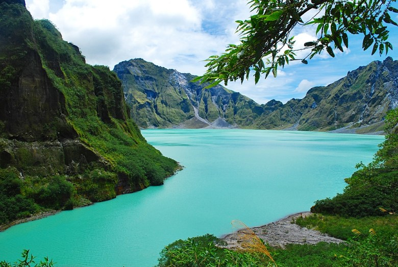 Mount Pinatubo crater lake in the southern part of Luzon is a popular hiking destination © Nomadic Experiences