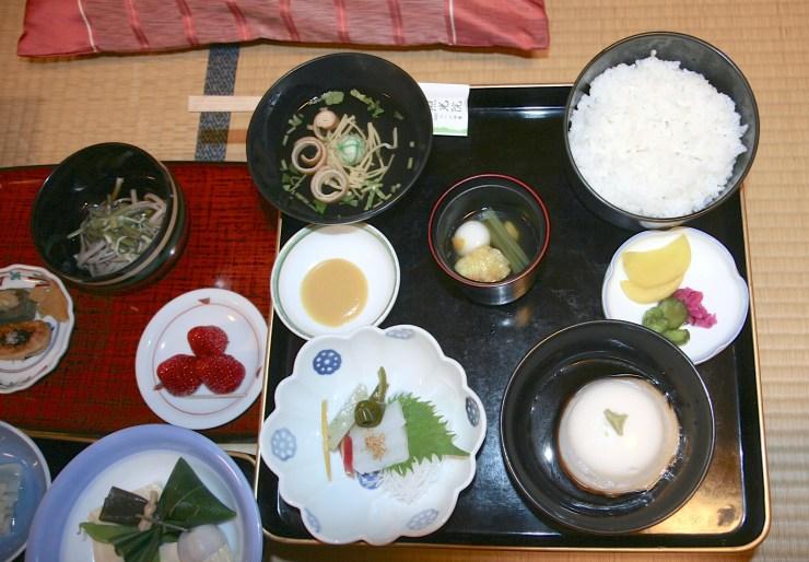 koyasan-dinner japan
