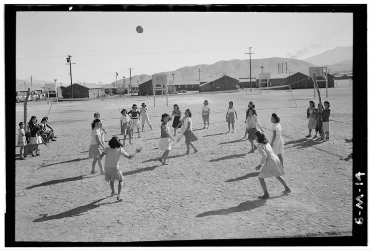 Ansel Adams Japanese Internment Camp 16