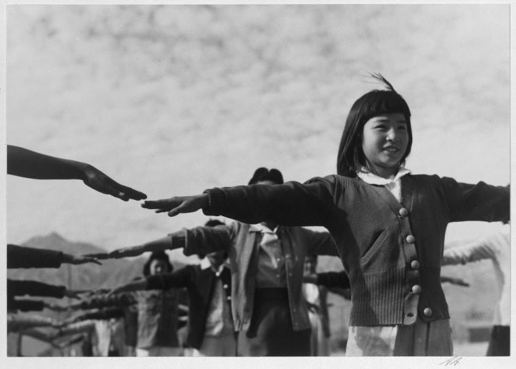 Ansel Adams Japanese Internment Camp 17