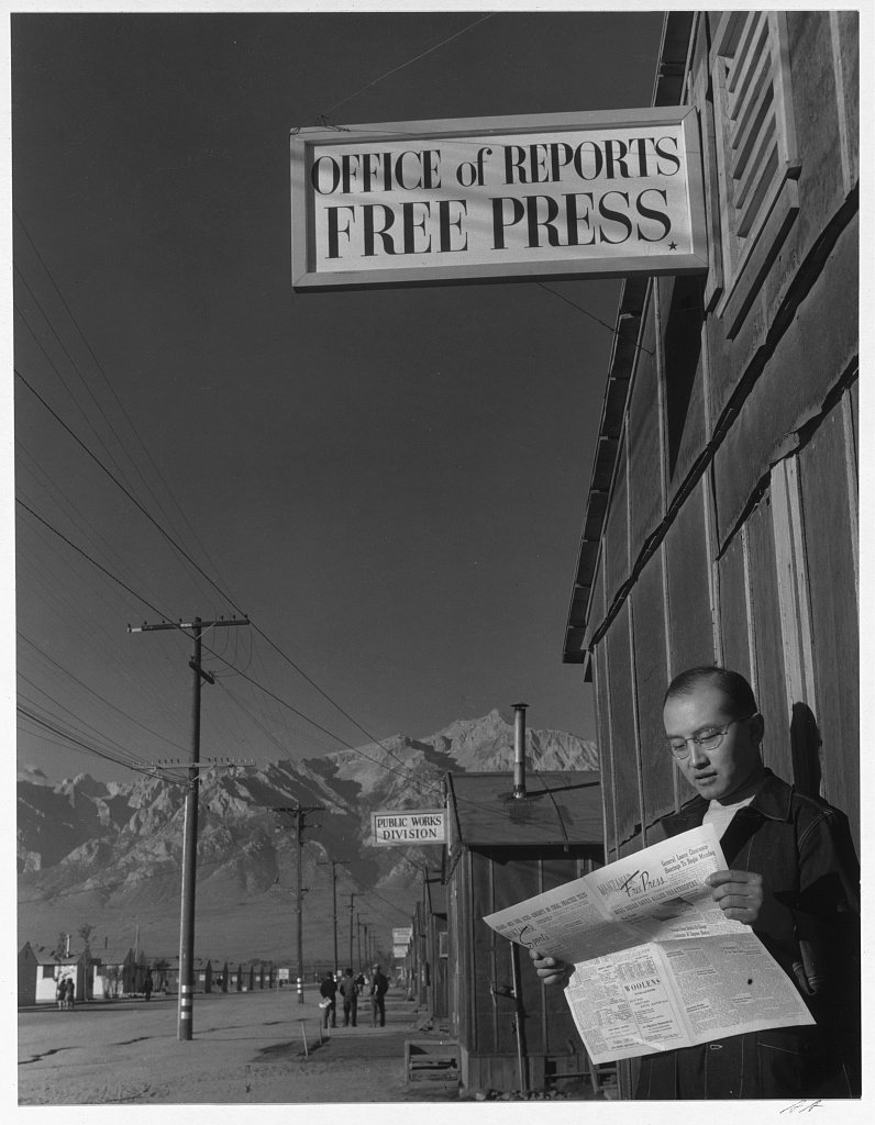 Ansel Adams Japanese Internment Camp 30