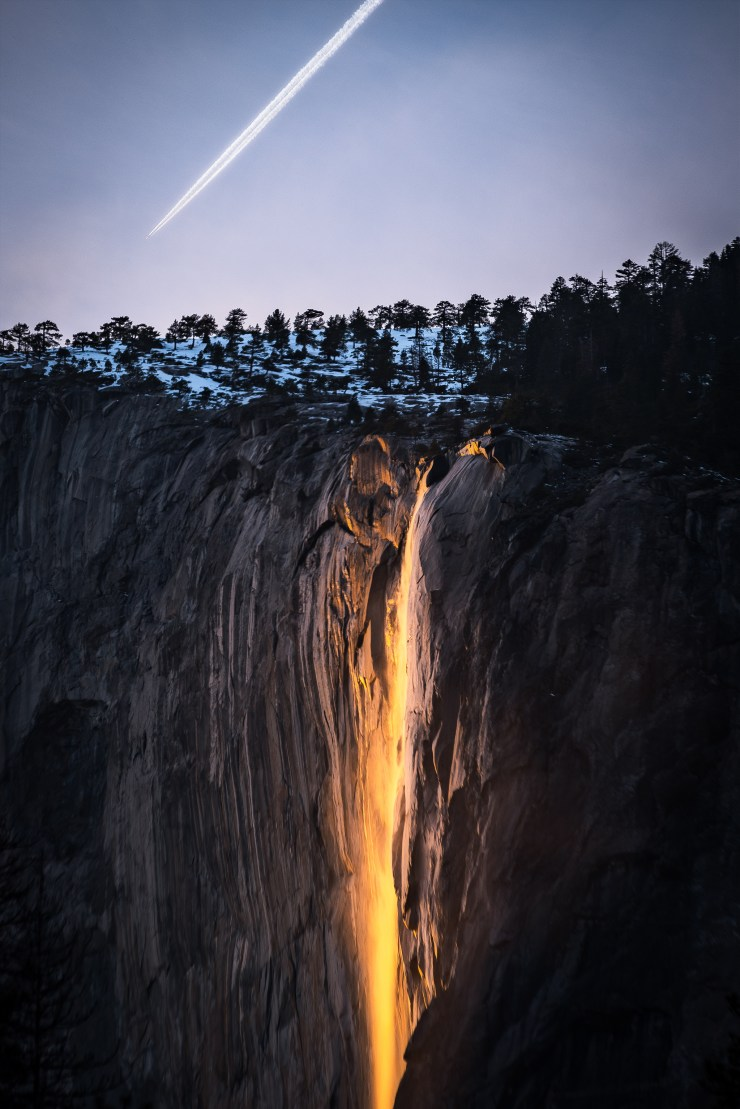 Earth Water Air Fire Horsetail Fall Yosemite National Park Taylor Gray