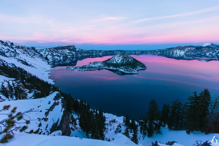 Crater Lake Blue Hour-2