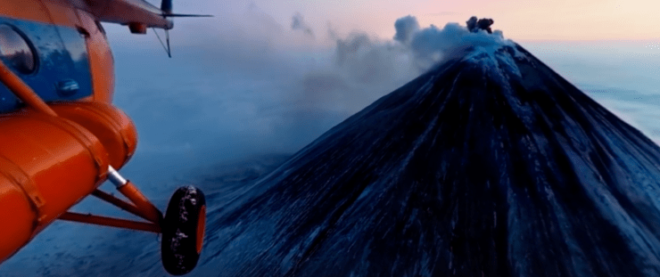National Geographic 360 Video Klyuchevskoy Volcano Russia 9