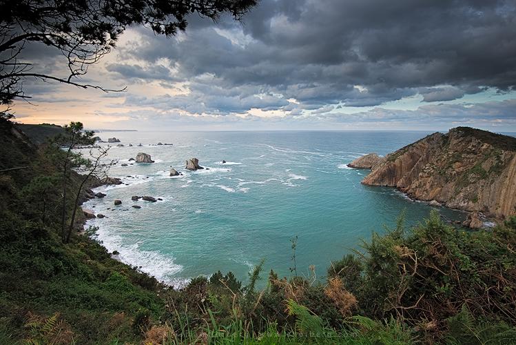 Playa de Silencio, Asturias.