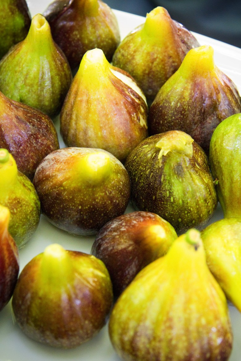 Fresh figs were a delicious and refreshing local treat