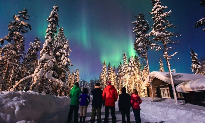 Alaska Lights View Best Northern Time Year