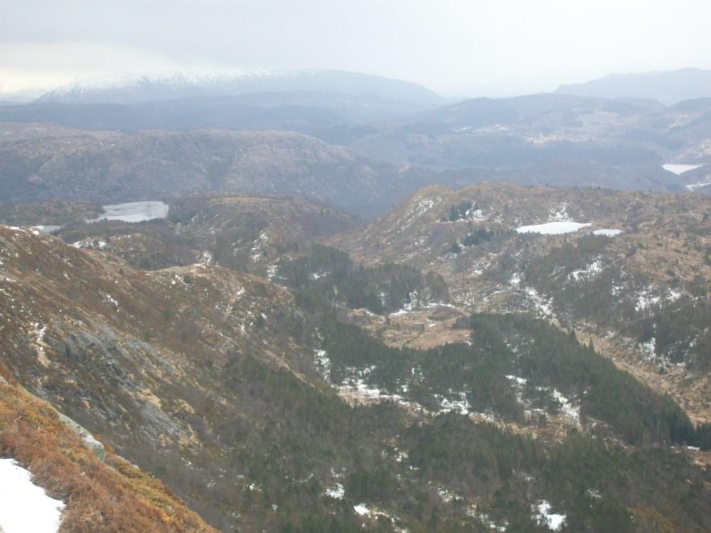 Climbing Mount Ulriken, Bergen, Norway (3/6)