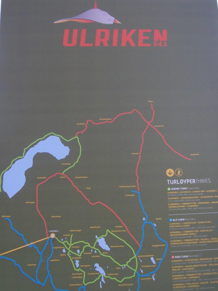 Climbing Mount Ulriken, Bergen, Norway (5/6)