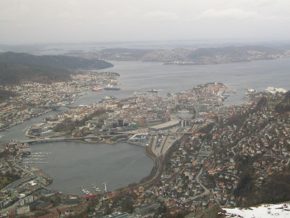 Climbing Mount Ulriken, Bergen, Norway (6/6)