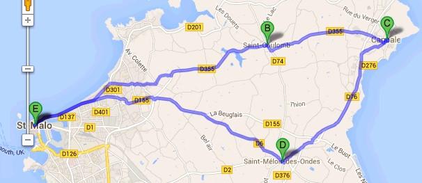 Saint-Malo to Cancale Hike Photos (1/6)