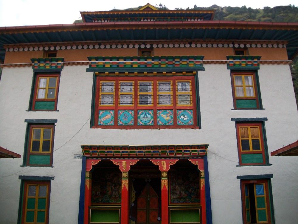 Junbesi Nepal Monastery and Hoopoe Photos (3/6)