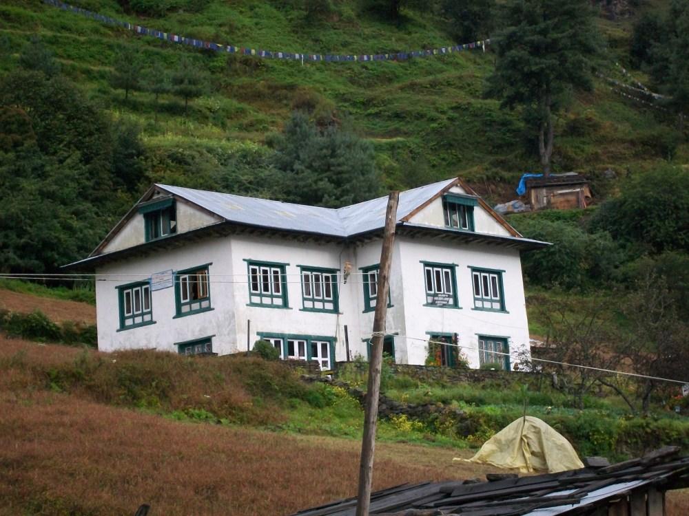 Junbesi Nepal Monastery and Hoopoe Photos (5/6)